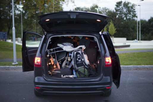 Proper skate van (dirty bird goes on tour) - Bjuv, Sweden - September 2015
