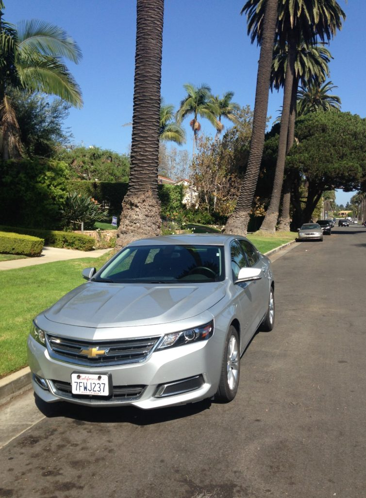 Let's just skip the airport and plane photos and cut to the chase. My car for the trip. A Chevrolet Impala. I think this was a brand new one. I fell in love immediately.