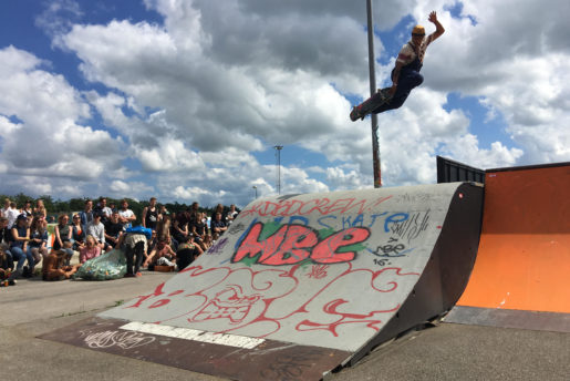 Andreas tweaking into 1 place Street Roskilde 2016