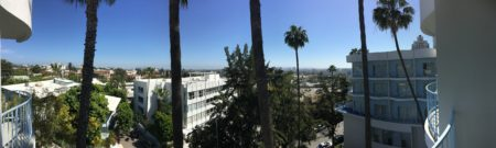 View our our hotel. downtown LA