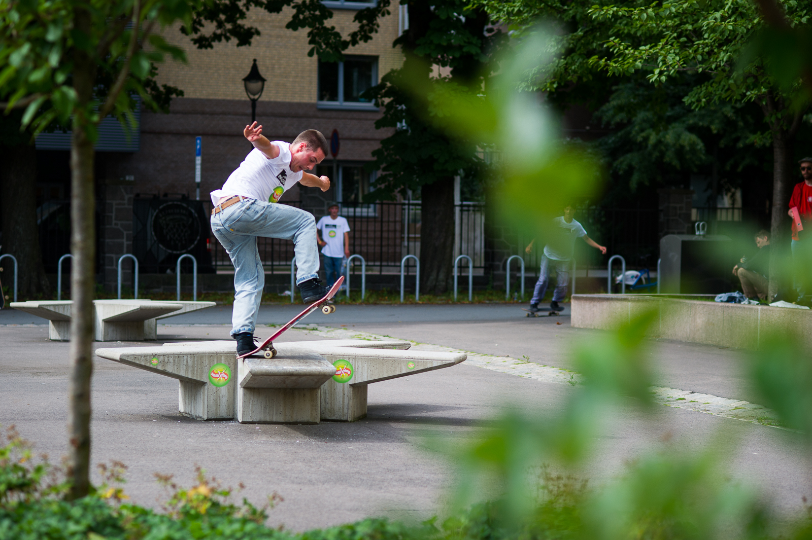 Eirik Ballo - Gap to FS Bluntslide