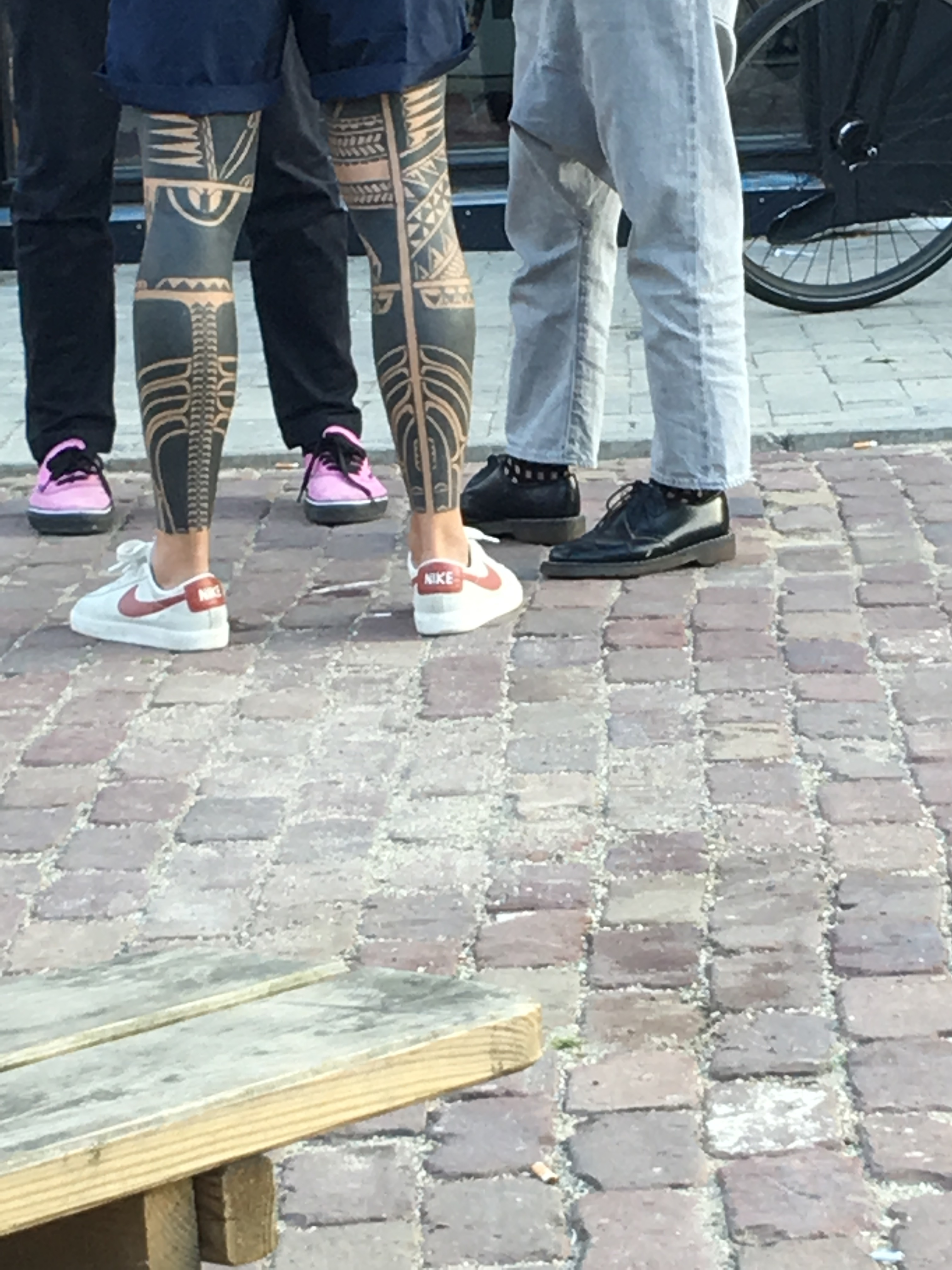 Saw this...heavy shit, heavy tattoo