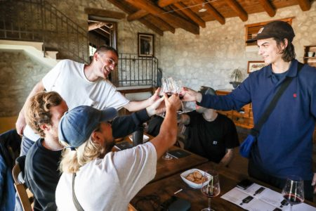goodtimes & wine testing Photo by Davide Biondani