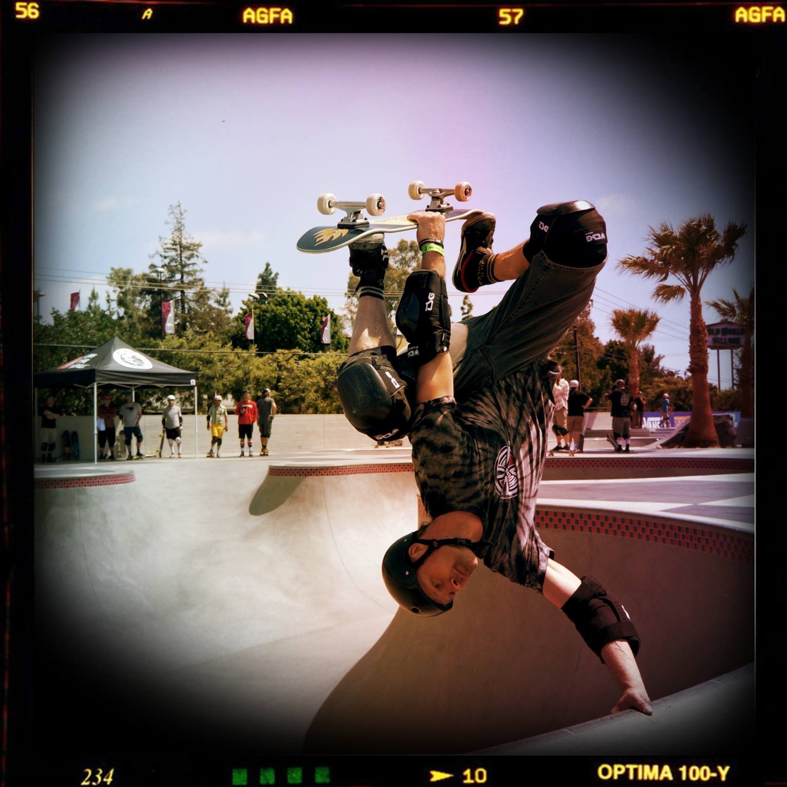 From the California trip 2014. First visit to Vans skatepark Huntington Beach! photo by Jonathan Park