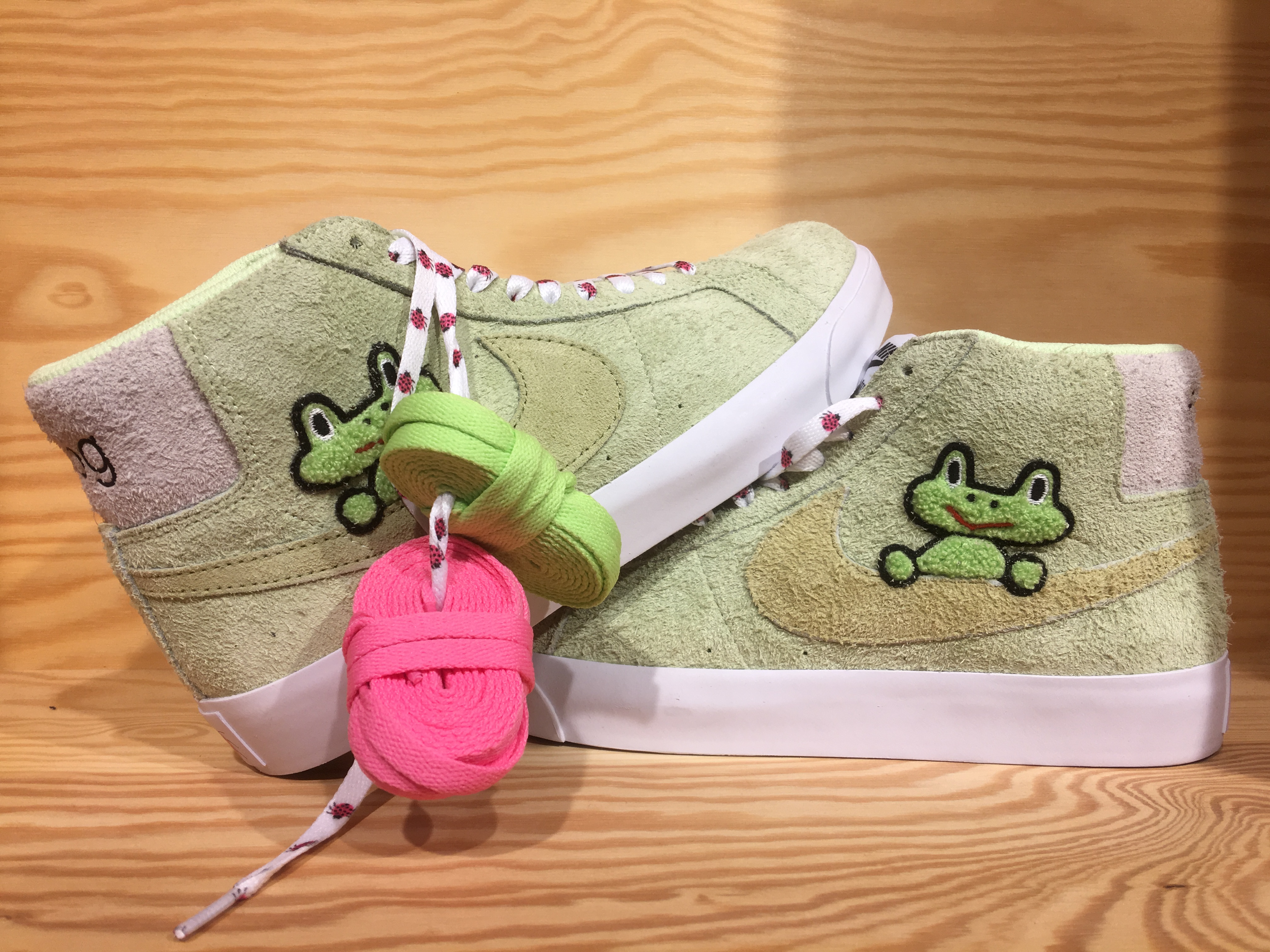 lowest price reasonably priced on wholesale Frog skateboarding x Nike SB blazer review – ShreddersLodge.com