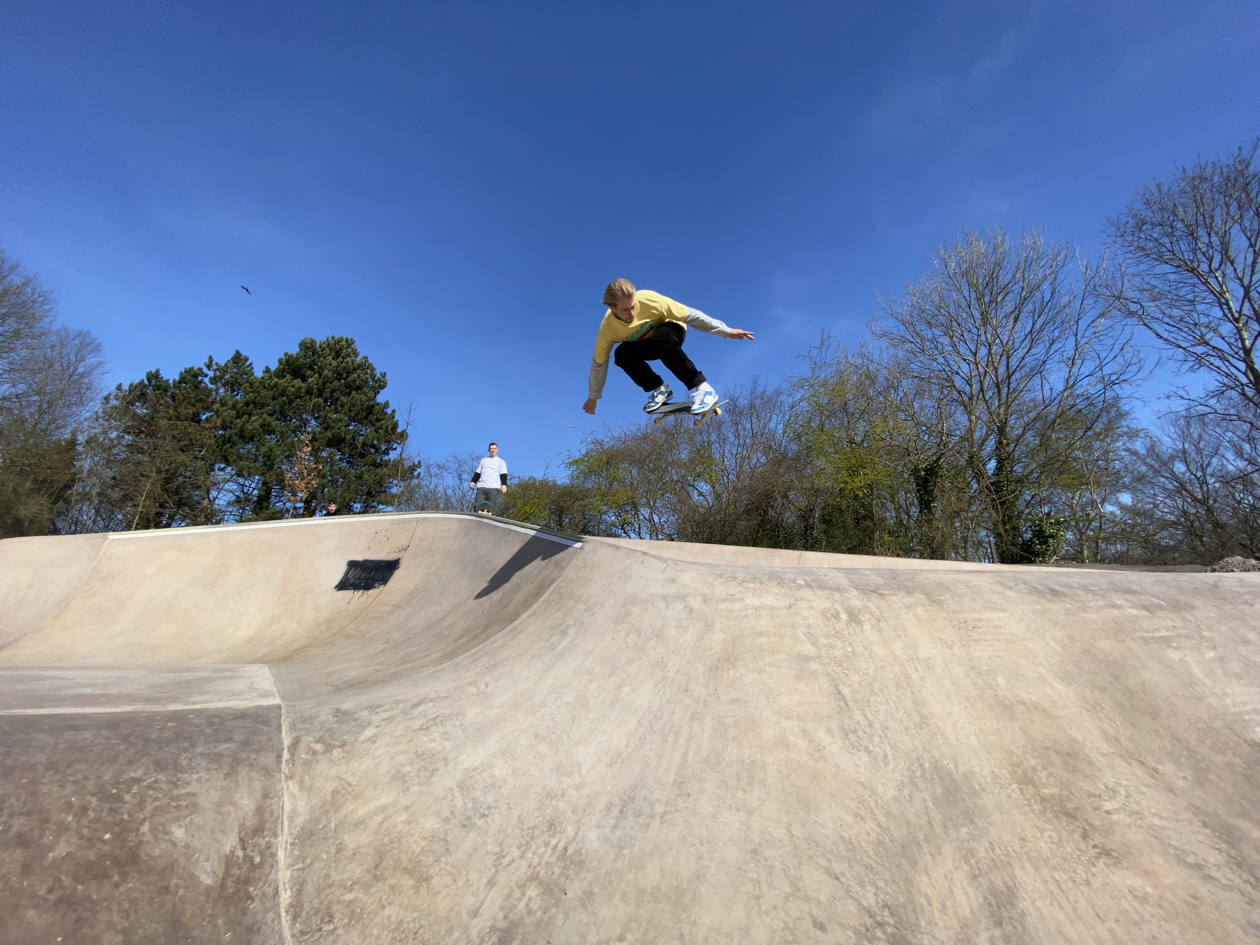 went to the new park in Amager and saw Jonas kill this park!!