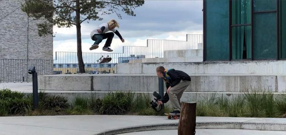 Kickflip at SEB spot, Copenhagen a while back, Photo: unknown, credit coming