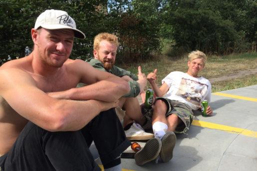 Power team, Jonas Skrøder, Burgeren, Hjalte. Photo: Thomas Kring