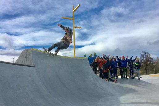 Balder lehman, FS rock, Munkbo, a FSR build skatepark. photo: Thomas Kring