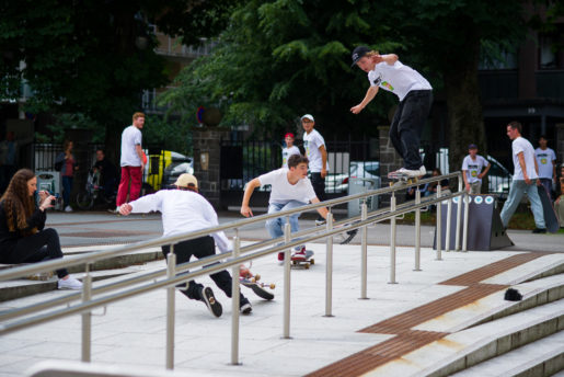 Hermann Stene - Kicker to 5050 grind pop out