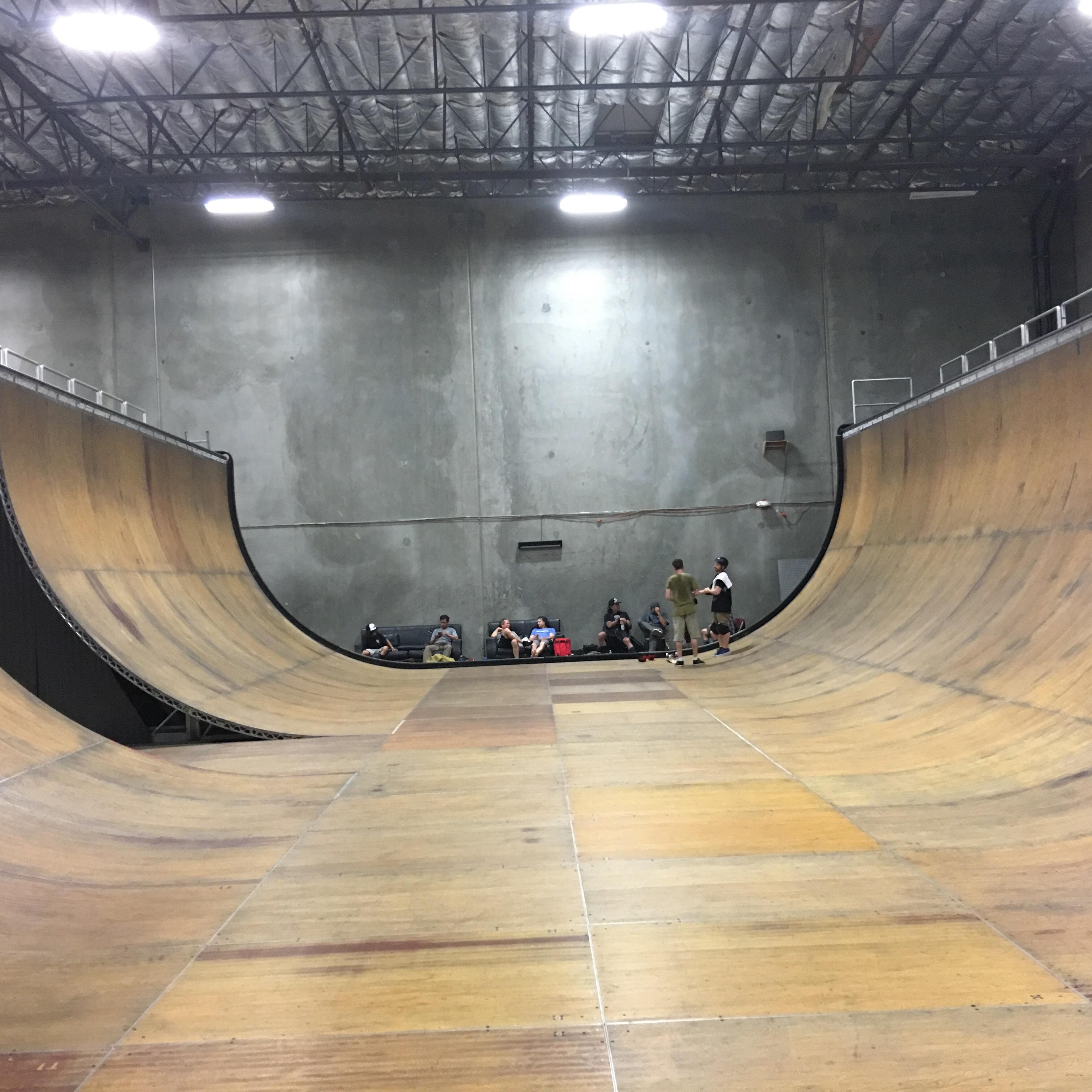 Tonys Ramp, maybe the best vert ramp ever build